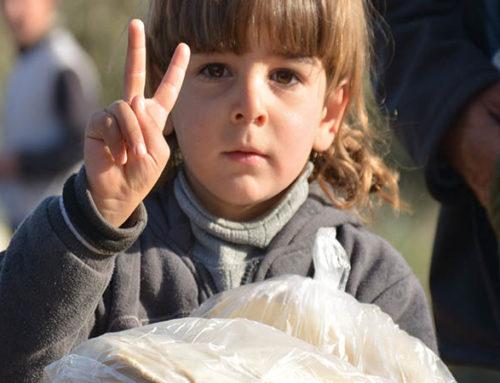 مساعدة طارئة لمهجري مدينة درعا
