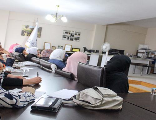 إنتهاء فعاليات النادي الصيفي لمركز المرأة في إسطنبول