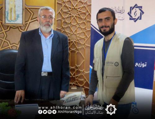 توقيع مذكرة تعاون مع المجلس المحلي لمدينة إدلب