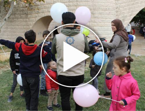 الرابطة تشارك بفعالية للأطفال الأيتام