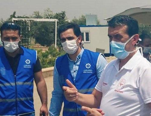 استقبال ممثل مديرية صحة هاتاي التركية في عفرين