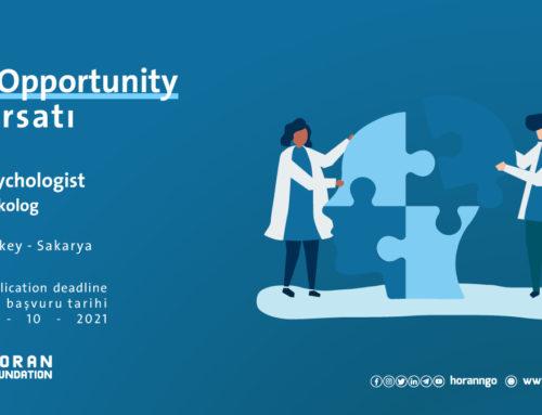 job opportunity: Psychologist